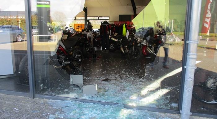 Motorrad-Diebstahl / Einbruch