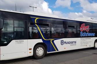 Unser Husqvarna-Bus!
