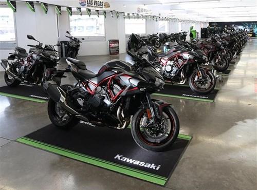 Kawasaki ofrece una inspección gratuita a todos sus clientes