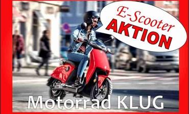 E-Scooter AKTION bei Motorrad KLUG