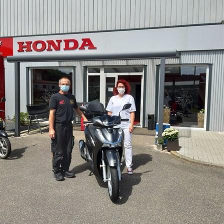 Honda bedankt sich!