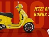 MEGA VESPA AKTION bei Motorrad Hütter!