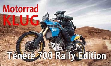 Motorrad KLUG präsentiert die neue Yamaha Ténéré 700 Rally Edition