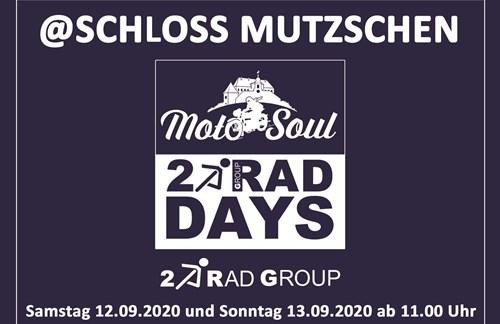 MotoSoul 2Rad Days @Schloss Mutzschen vom 12.-13.9.2020
