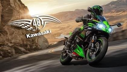 Die 48 PS-Modelle von KAWASAKI
