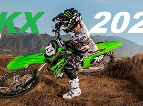 New  KX 250  MY 2021 zum Angreifen und Anschauen!!