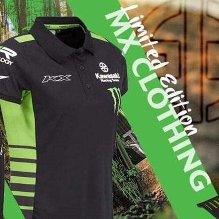 NEW !!  NEW !! NEW !! Wir haben exklusiv für Österreich: KAWASAKI limited Edition MX-Bekleidung !!!