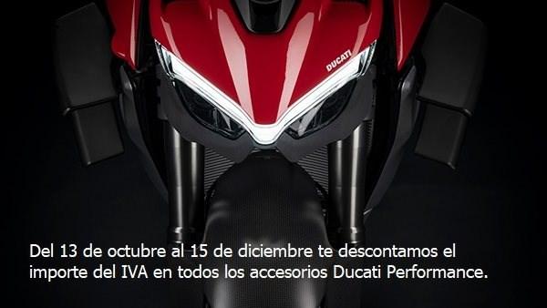 """Personaliza tu Ducati """"Regalo Importe del IVA"""""""