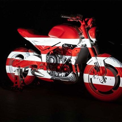 """TRIUMPH PRÄSENTIERT """"DESIGN PROTOTYPE"""" DER NEUEN TRIDENT Im London Design Museum hat TRIUMPH Motorcycles den """"Design Prototype"""" der kommenden Trident enthüllt. Dieses Motorrad markiert de... Weiter >>"""