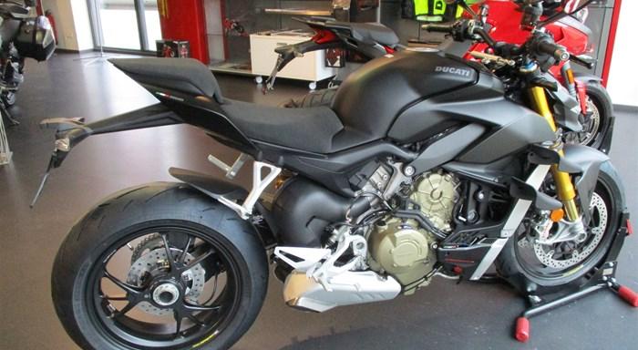 DUCATI NEWS: Ducati Streetfighter V4 S 2021 in Dark Stealth und mit Euro5