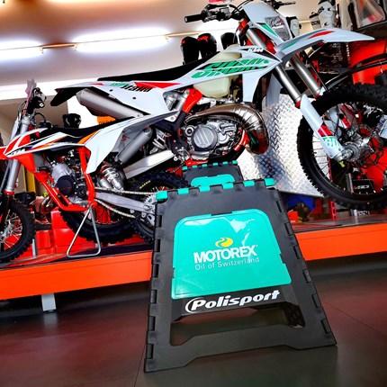 Motorex Motocross-Ständer bei uns verfügbar!  Motorex Motocross-Ständer bei uns verfügbar!