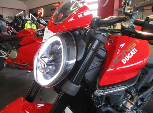 DIE DUCATI NEW MONSTER - JETZT ab sofort bei uns !
