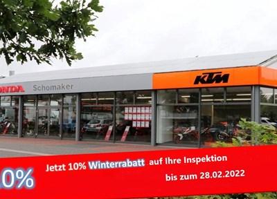 NEWS 10% Winterrabatt auf den Werkstattauftrag!
