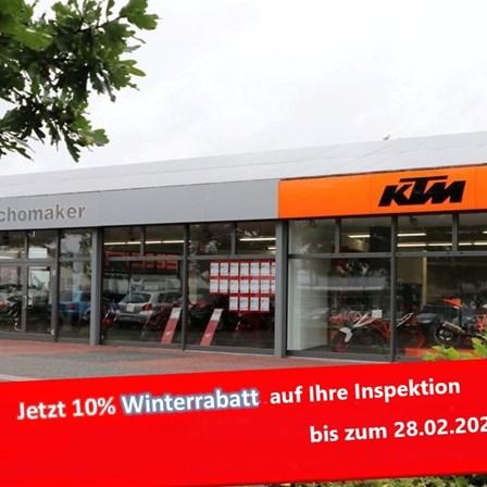 10% Winterrabatt auf den Werkstattauftrag!