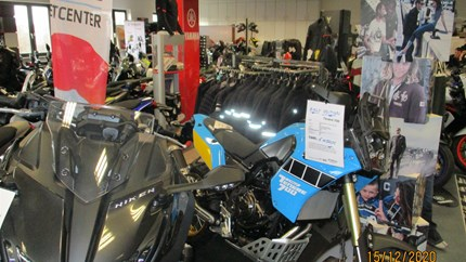 NEWS Umbau unseres Yamaha Showrooms