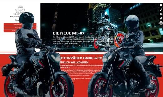 Unsere neue Yamaha-Webseite!