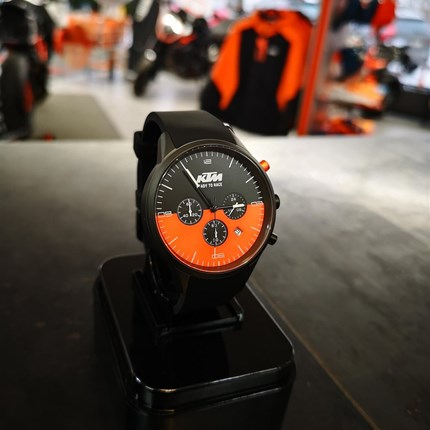 KTM  Armbanduhr | KTM  Pure Watch *Click & Collect*  KTM Power WAER | KTM Pure Watch   10 ATM wasserdicht Edelstahl-Gehäuse Chronograph mit Stoppfunktion   *Click & Collec... Weiter >>