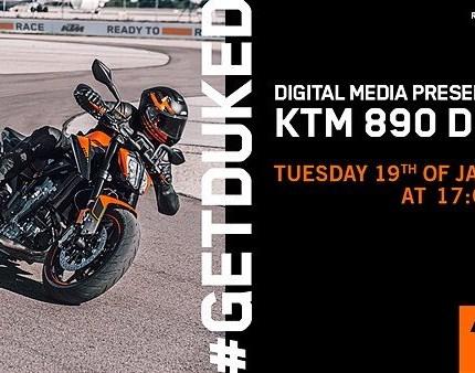 EINLADUNG ZUR DIGITALEN PRESSEVORSTELLUNG DER KTM 890 DUKE MY2021  KTM Walzer lädt Sie herzlich ein, Teil der digitalen Pressevorstellung der KTM 890 DUKE Modelljahr 2021 zu sein. Die Präsentatio... Weiter >>