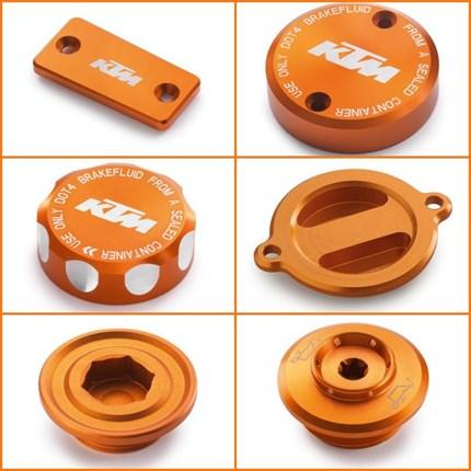 KTM Powerparts orange eloxiert für deine KTM !  KTM Powerparts orange eloxiert für deine KTM !