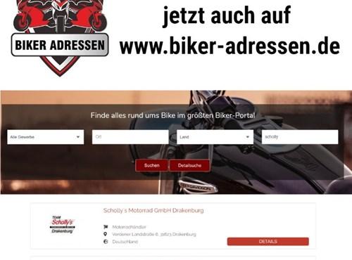 Team Scholly´s ist nun auch bei www.biker-adressen.de gelistet