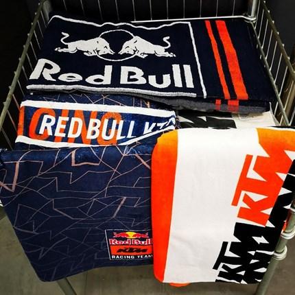 KTM Red Bull Racing Handtücher   *Click & collect*  Wir versenden auch! Ruft uns an oder schreibt eine Mail !