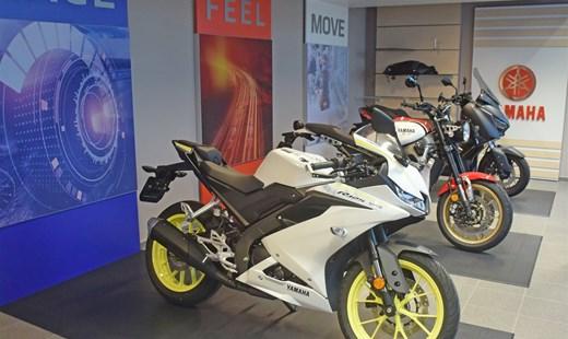 Neuer Yamaha Showroom