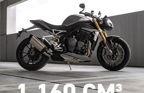 Die neue Triumph Speed Triple 1200 RS!