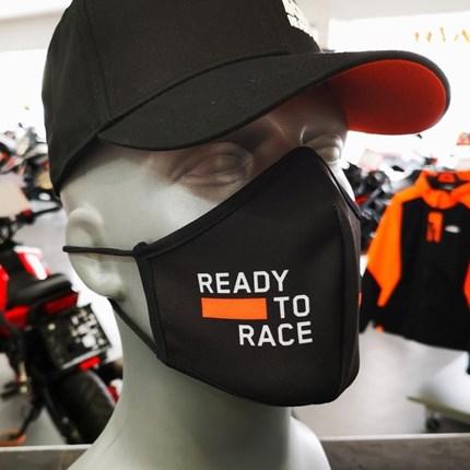 KTM Maske - So lange der Vorrat reicht !  Ready to Race  KTM Maske - So lange der Vorrat reicht ! Ready to Race !