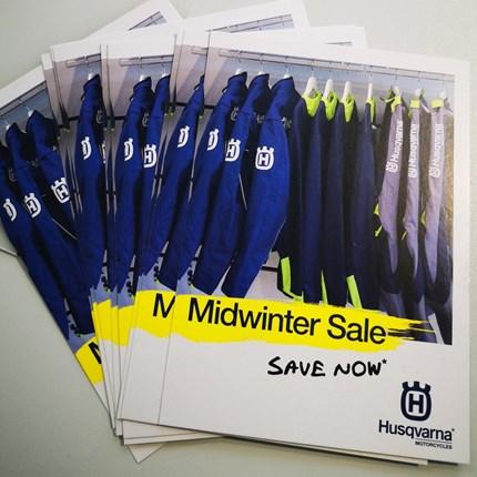 Midwinter SALE Husqvarna !!  Midwinter SALE Husqvarna !! Click & collect oder auch per Versand !!