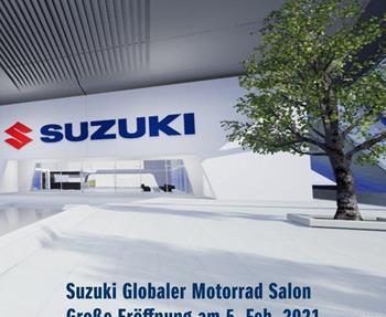 Suzuki Motorcycle Global Salon, eine virtuelle Kommunikationsplattform, die Fans von Suzuki Motorrädern ab dem 5. Februar auf ... Weiter >>