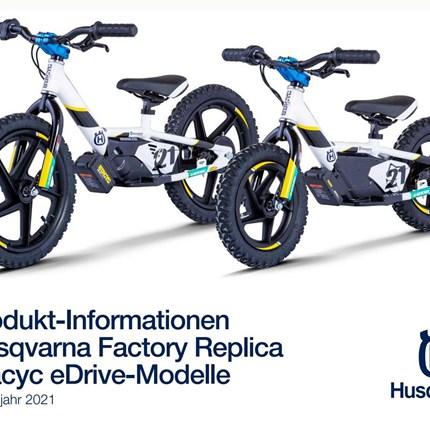 Husqvarna Stacyc sind eingetroffen  Husqvarna hat sein Elektroangebot für 2021 erweitert. Neben dem EE 5 electric mini sind zwei neue Stacyc-Laufräder erhältlich .... Weiter >>