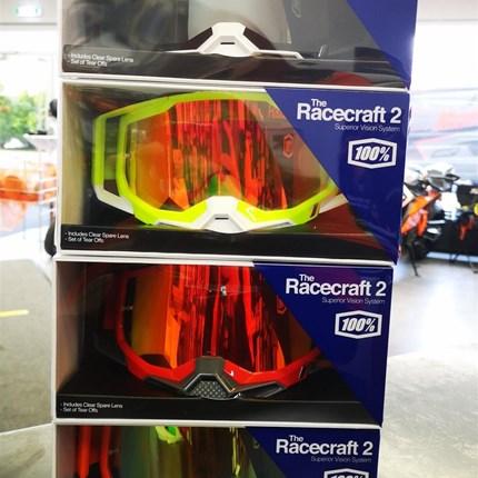 100 % Racecraft 2 Motocrossbrillen - NEUE Modelle eingetroffen !!    Racecraft 2 Motocrossbrillen - NEUE Modelle eingetroffen !!