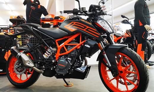 KTM 125 Duke 2021 !!