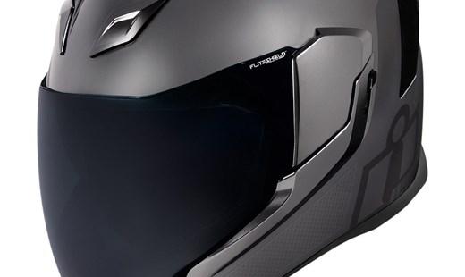 Neuer Icon Airflite Helm Jewel Silber inkl. MIPS