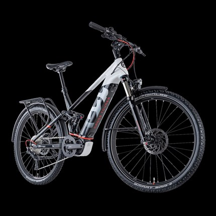Husqvarna CROSS TOURER 6-FS - E-Bike  Husqvarna CROSS TOURER 6-FS  Motor: Shimano STePS DU-E8000, 250W, 70Nm Akku: Simplo TPS, 500Wh, 36V, 14Ah Gabel: SR Suntour X... Weiter >>