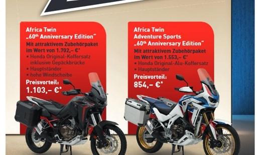 Africa Twin 60 Jahre Edition - Zubehöraktion -