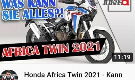 HONDA SEMMLER - LUKAS.61 VORSTELLUNG AFRICA TWIN 1100