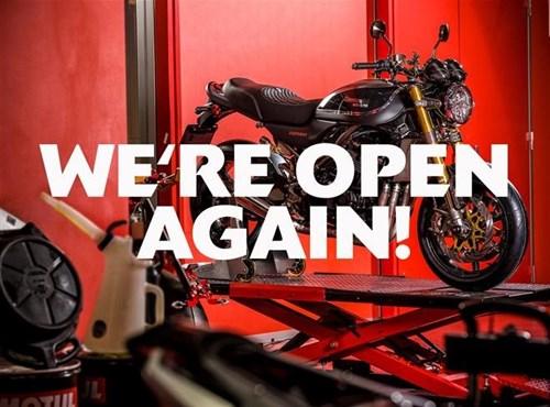 Ab dem 1. März sind die Verkaufsräume der Schweizer Kawasaki Händler wieder geöffnet!