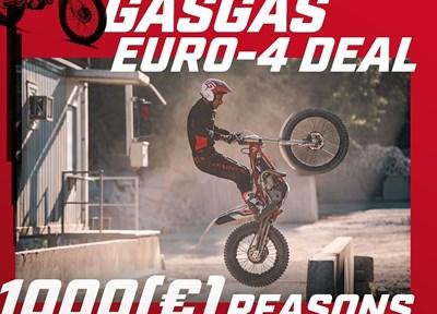NEWS GASGAS EURO-4 DEAL