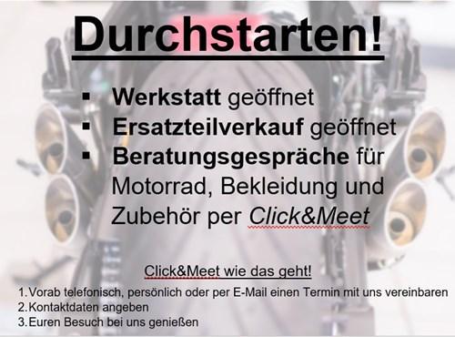 NEWS Click&Meet - Aktuelle Informationen!