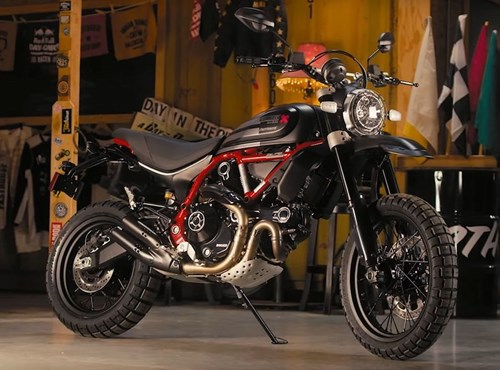 NEWS NEW DUCATI DESERT SLED FASTHOUSE 2021 - LIMITED