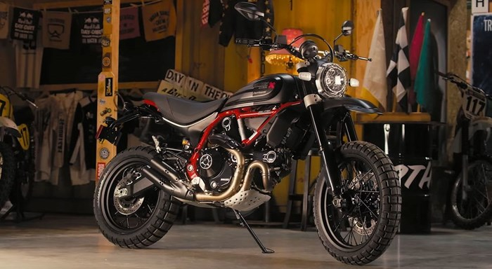 JETZT BEI UNS - NEW DUCATI DESERT SLED FASTHOUSE 2021 - LIMITED