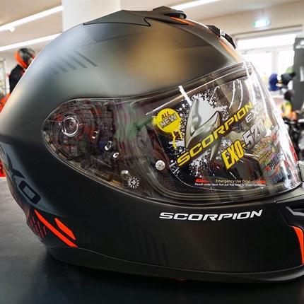 Scorpion EXO-520 AIR Scorpion EXO-520 AIR Der EXO-520 AIR wurde speziell entwickelt, um eine perfekte Kombination aus Aerodynamik auf Hypersportniveau... Weiter >>
