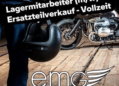 EMG News Lagermitarbeiter gesucht