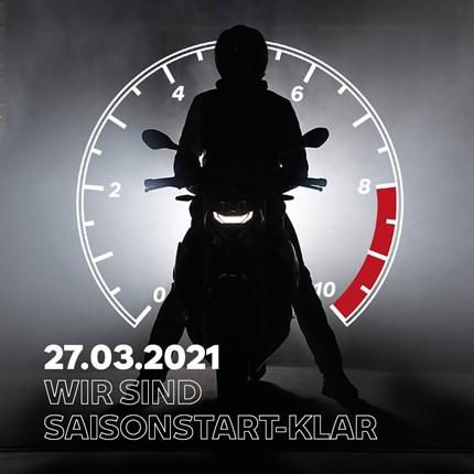 BMW Saisonstart 2021  BMW Motorrad Saisonstart - 27.03.2021, 9-13 Uhr!  Am Samstag ist es soweit: Die Saison startet mit tollen Angeboten und Aktion... Weiter >>