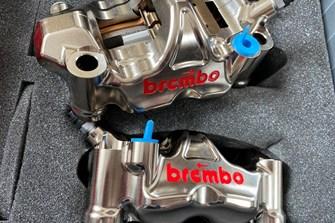 Bild zum Bericht: Honda CBR 1000RR-R x Martin Bauer: Die Bremsen!