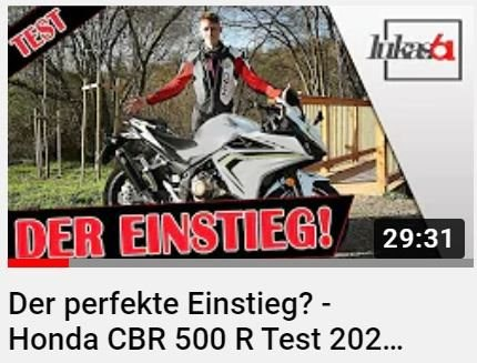 Honda Semmler - Lukas.61 Video über die Honda CBR500R
