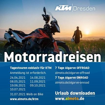 KTM Touren 2021  KTM Touren 2021 mit Almoto
