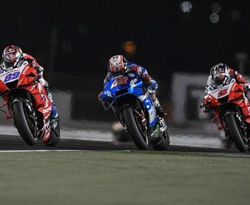 In Runde 2 der MotoGP-WM, dem Grand Prix von Doha, gab es heiße Zweikämpfe und das Suzuki ECSTAR Team ging schließlich mit Alex Ri... Weiter >>