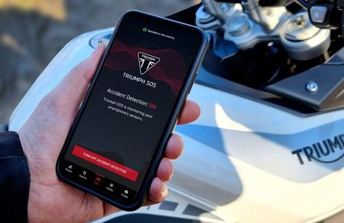 SOS-App für Biker